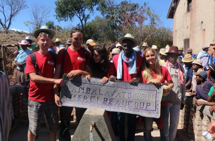 Inauguration d'Ambohibory