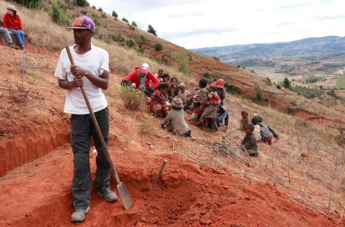 Construction du bac filtre de Mahamavo