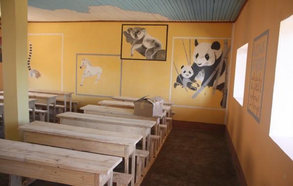 Peinture de l'école