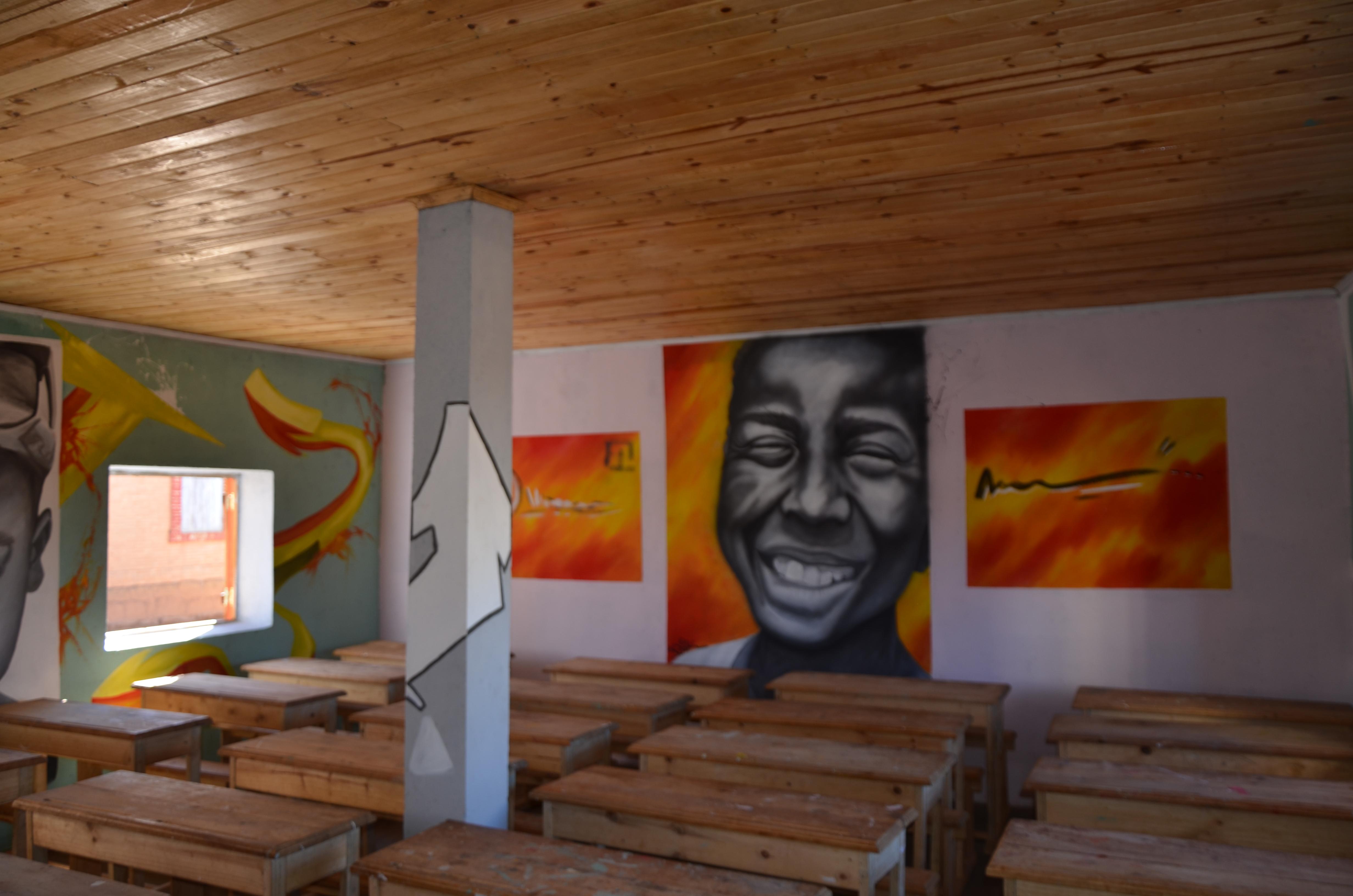 Salle de classe de l'école